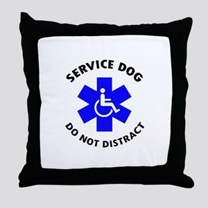 DO NOT DISTRACT Throw Pillow