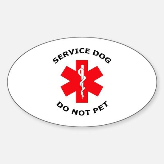 DO NOT PET Decal