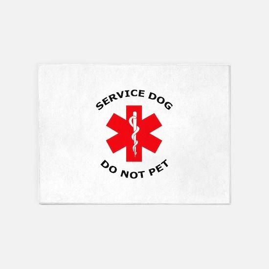 DO NOT PET 5'x7'Area Rug