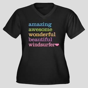 Windsurfer Plus Size T-Shirt