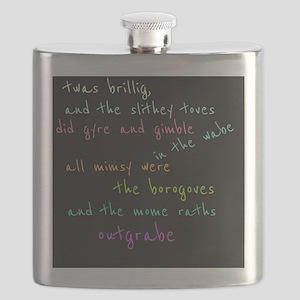 Twas Brillig Flask
