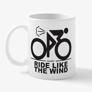 Ride Like The Wind Cycling Mug Mugs