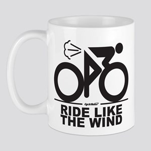 Ride Like The Wind Cycling Mug Mugs