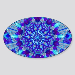 Blue and Purple Patterned Sticker