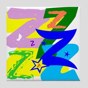 Initial Design (Z) Tile Coaster