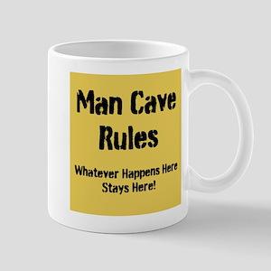 Man Cave Rules Mugs