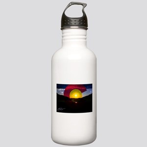 Colorado and the Sun Stainless Water Bottle 1.0L