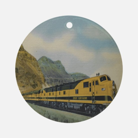 Empire Great Northern C Ornament (round)