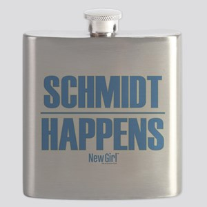 New Girl Schmidt Flask