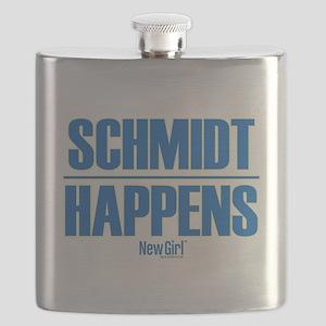 New Girl Schmidt Flask
