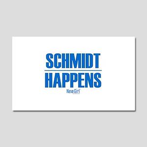 New Girl Schmidt Car Magnet 20 x 12