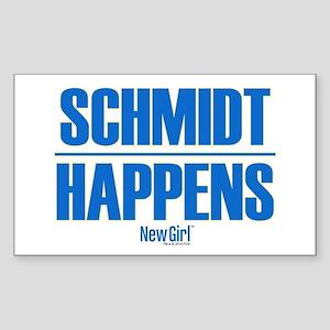 New Girl Schmidt Sticker (Rectangle)