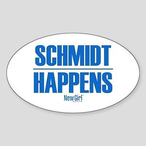 New Girl Schmidt Sticker (Oval)