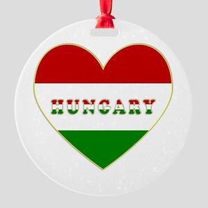 HungaryInMyHeart Round Ornament