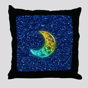 Moon Night Throw Pillow