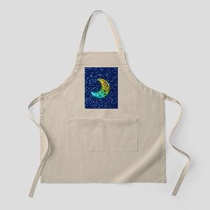 Moon Night Apron