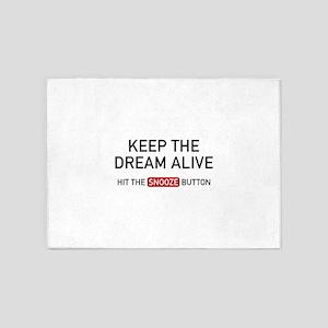 Keep The Dream Alive 5'x7'Area Rug