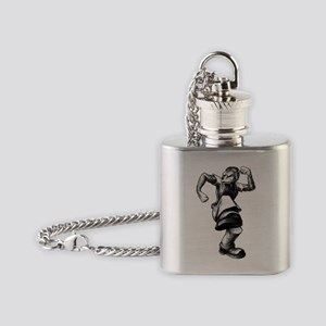 l (1) Flask Necklace