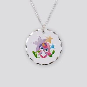Miss Hoot - Necklace Circle Charm