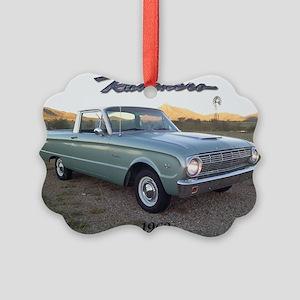 1963 Ford Ranchero Picture Ornament