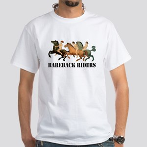 BAREBACK RIDERS White T-Shirt