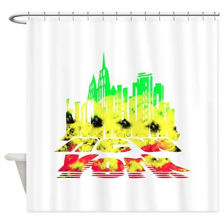 Nyc Rasta Shower Curtain