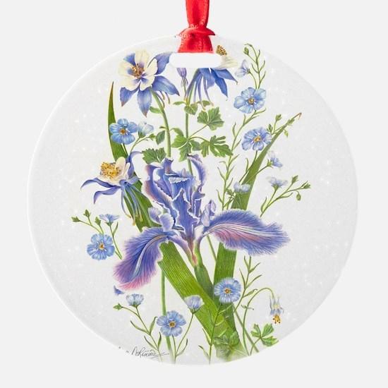 Blue Bouquet Ornament