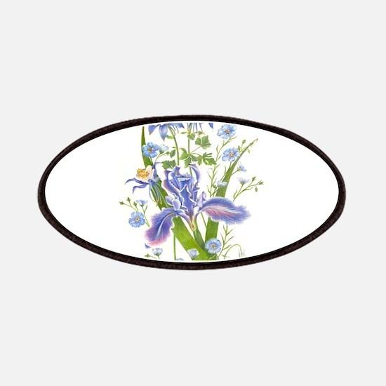 Blue Bouquet Patches