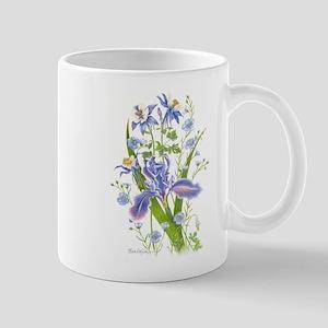 Blue Bouquet Mugs