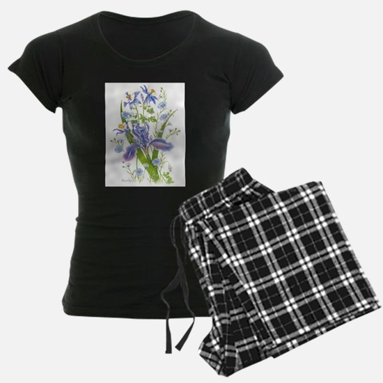 Blue Bouquet Pajamas