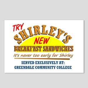 Shirley's Sandwiches Postcards (Package of 8)