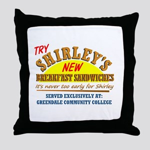 Shirley's Sandwiches Throw Pillow