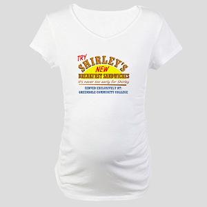 Shirley's Sandwiches Maternity T-Shirt