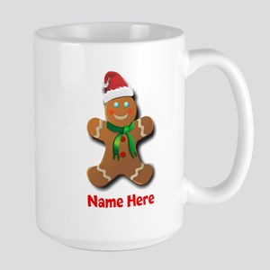 Gingerbread Man Mugs