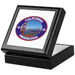 The California Freemason Keepsake Box
