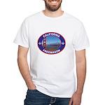 The California Freemason White T-Shirt