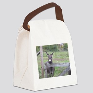 Miniature Donkey II Canvas Lunch Bag