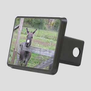 Miniature Donkey II Rectangular Hitch Cover
