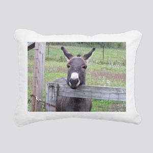 Cosmo at the Gate Rectangular Canvas Pillow