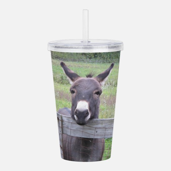 Cosmo at the Gate Acrylic Double-wall Tumbler