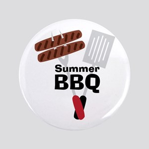 """Cookout_Summer BBQ 3.5"""" Button"""