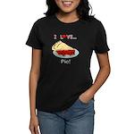 I Love Pie Women's Dark T-Shirt