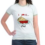 I Love Pie Jr. Ringer T-Shirt