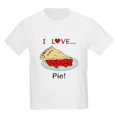 I Love Pie T-Shirt