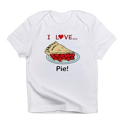 I Love Pie Infant T-Shirt