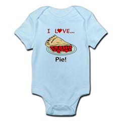 I Love Pie Infant Bodysuit