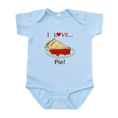 I Love Pie Infant Bodysuit