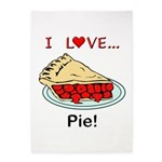I Love Pie 5'x7'Area Rug