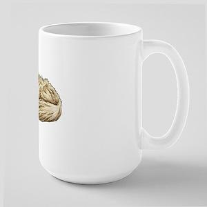 Golden Retriever Sleeping Large Mug