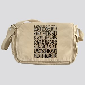 It's Greek to Me! Messenger Bag